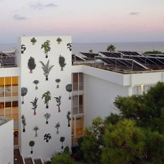 fff #street art #mural #wall #plants #garden