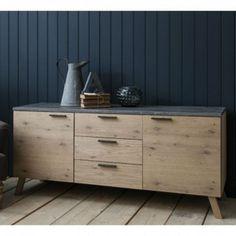 Modern French Oak Sideboard