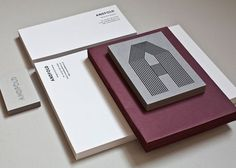 design work life » Andfold Studio Identity #papers #identity #business #andfold
