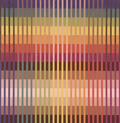 cavetocanvas:Michael Kidner, Color Value Intensity, 1981 #weaving