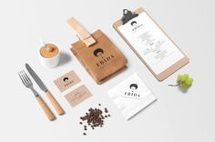 Frida. #Identity for a Mexican #crepperie