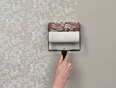 Patterned Paint Roller Kit #diy #paint #roller