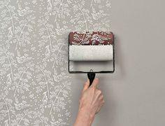 Patterned Paint Roller Kit #diy #paint #roller