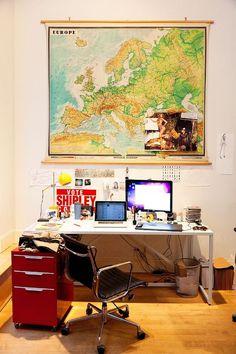 jeff halmos #interior #bedroom #space #imac #work