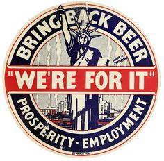 BEER HERE @NYHistory: Photo #vintage #beer #sign #prohibition
