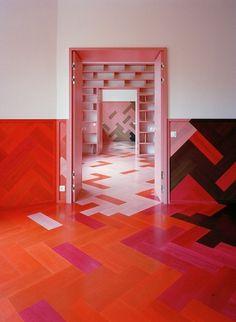 AECCafe.com - ArchShowcase - Humlegården apartment in Stockholm, Sweden by Tham & Videgård Arkitekter