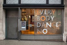 'Everybody Dance Now' #design #graphic #dance #exhibition #everybody #now #york #pentagram #aiga #new