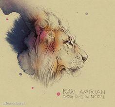 Kari Amirian - Daddy Says I'm Special w KulturaOnline.pl #illustration