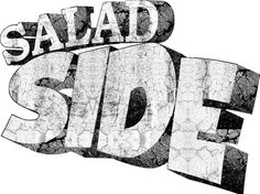 SALAD SIDE #side #logo #salad #identity