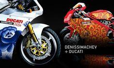 DENIS SIMACHEV #ducati #branding #motorcycle
