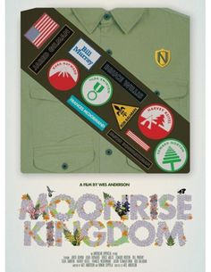Wes Anderson Anticipation: Moonrise Kingdom Posters | Apartment Therapy #design #graphic #illustration #poster #typography