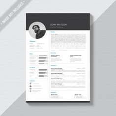 Black and white cv template Free Psd. See more inspiration related to Mockup, Business, Template, Resume, Cv, Black, Web, Website, Cv template, White, Mock up, Job, Document, Psd, Curriculum vitae, Templates, Website template, Page, Interview, Curriculum, Resume template, Mockups, Up, Experience, Web template, Employment, Realistic, Real, Web templates, Employer, Mock ups, Mock, Paperwork, Psd mockup, Ups and Vitae on Freepik.