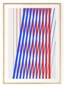 Outlined.cc Limited Edition Artwork Striped #1 striped art print design artprint wallart
