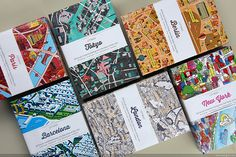 CITIx60 city guide books presented by 60 creatives CITIx60 city guide books presented by 60 creatives #guides #city #print #map #cities