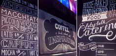 Chalkboard for Mojo Coffee.