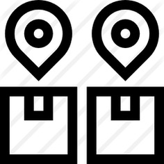 See more icon inspiration related to maps and location, shipping and delivery, tracking, packaging, placeholder, package, delivery, pin, cardboard, box, search and location on Flaticon.