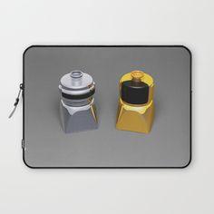 Duplo Daft Punk Laptop Sleeve at Søciety6 #daftpunk #artprint #dj #duplo #lego #edm #dj #music #rickardarvius