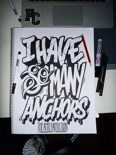 Typography inspiration #graffiti type marker