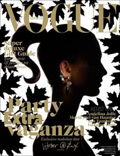 #vogue #shadow #cover #profile #earring #jewelry