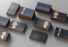 Bib & Tucker Business Cards #bibtucker #cards #business #stationery