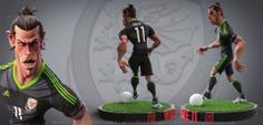 Gareth Bale 3D character