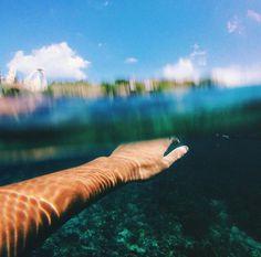 #hand #water