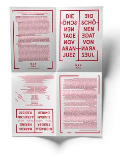 HERBURG WEILAND #flyer #composition #typography
