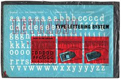 Type Tuesday: Letraset Type Transfer — UPPERCASE #letraset