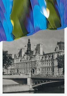 souvenirs de paris Leslie David #paris #paint