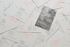 Sweet Creative | Recent-Work | Chamber Made Opera #white #business #card #color #orange #black #and #2