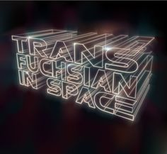3D Typography Tutorials #retro #space #neon