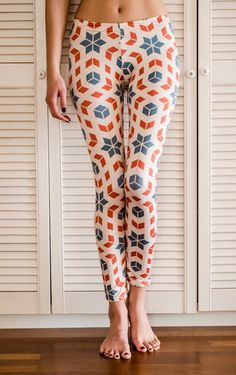 Vintage Art #fashion #leggins #pattern