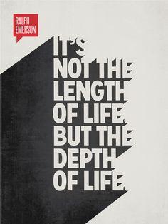 Minimalist Poster Quote Ralph Waldo Emerson