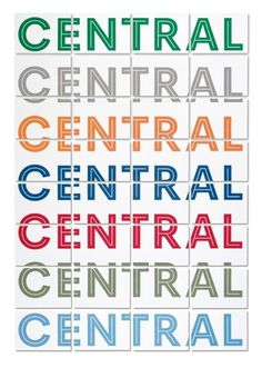 Central School identity « Studio8 Design #central