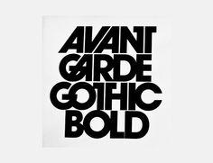 Avant Garde  Credits: http://typedeck.com/avant-garde/