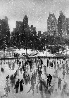 this isn't happiness™ photo caption contains external link #photo #park #skates #ice #winter