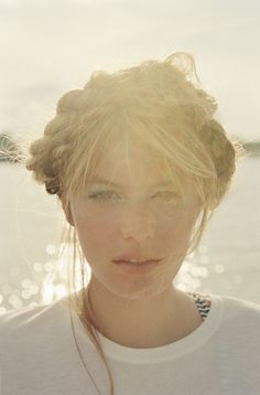 Camille Rowe by Tim Barber for Marie Claire | ZAC FASHION #photography #girl