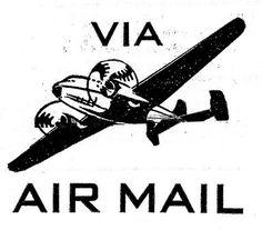 FFFFOUND! | Air Mail sur Flickr: partage de photos! #logo #typography