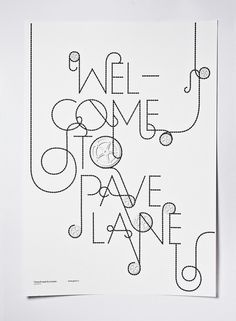 Pave (Print) by Lo Siento Studio, Barcelona #poster #b&w