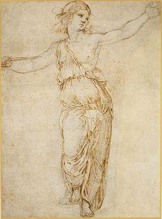 Lucretia by Raphael (Raffaello Sanzio or Santi)