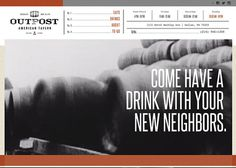 Outpost Tavern Turman Design Co. • Interactive Design and Development for Web, Mobile, and Beyond