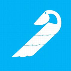Paste Parts Stylized Bird Silhouette #symbol #geometric #bird