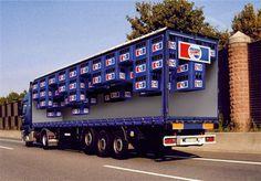 Creative Pepsi Truck Advertisment design idea #ads #ideas