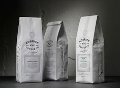 Graphic-ExchanGE - a selection of graphic projects #white #packaging #black #and #type