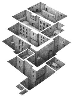 The Architectural Review's Folio #perspective #architecture #drawing