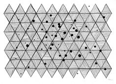 Dan+Bina%2C+Galactic+Mesh%2C+ink%2C+11-12-10+copy.jpg (JPEG Image, 720x527 pixels) #abstract #ink #bina #dan #grid #paper #art #triangles #matrix #drawing