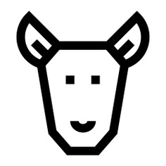 See more icon inspiration related to fauna, wild life, kangaroo, animal kingdom, local, face, australia and animals on Flaticon.