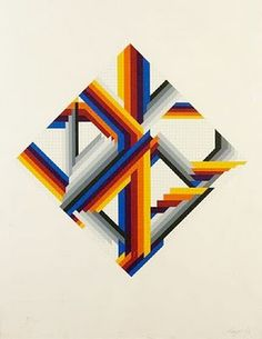 herbert bayer.jpg (309×400) #geometry #illustration #design #graphic