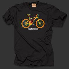 Gravity Mafia Bike T-shirt #fashion #illustration #design #tshirt