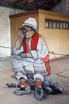 Ella and Pitr | PICDIT #graffiti #design #art #street